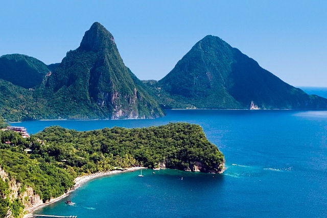 Resultado de imagen de isla santa lucía