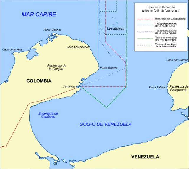 Diferendo del Golfo de Venezuela.