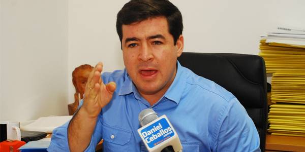 Difieren audiencia del exalcalde Daniel Ceballos