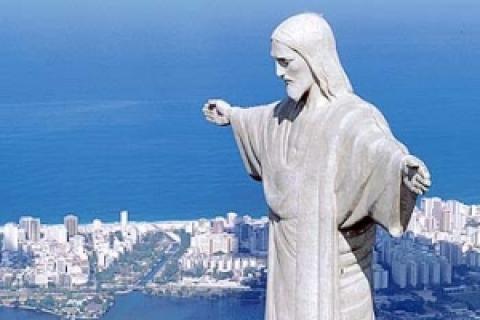 El Cristo Redentor de Río de Janeiro fue expuesto en el 2007 como una de las 7 Maravillas del Mundo Actual
