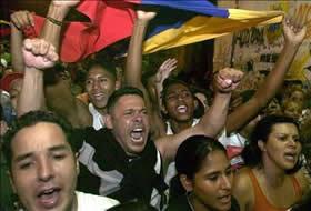 Los estudiantes venezolanos han tenido mayor protagonismo este año, estudiantes venezolanos