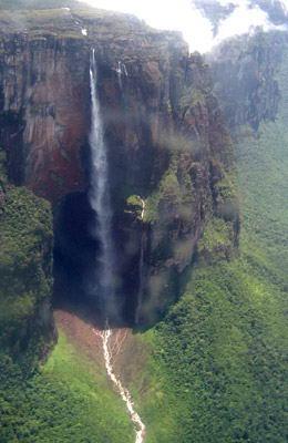 El Salto Ángel: ¿Sin caída de agua por causa de El Niño