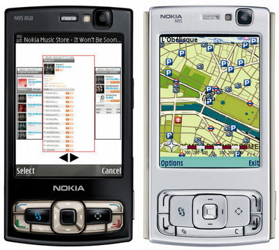 fotos de celulares nokia. Nokia N95 8GB, no solo un