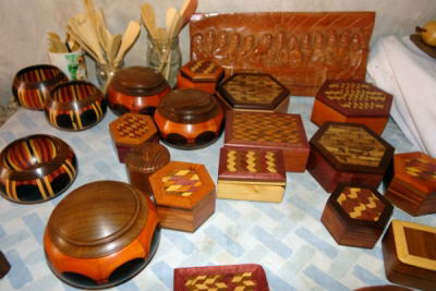 Artesanías típicas del pueblo