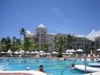 Vista del Hotel Riu