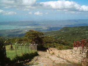Resultado de imagen para vía de acceso a la Sierra de Falcón