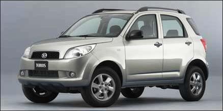 Toyota Terios (2008, 2009, 2010)